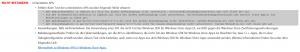 App Certification Kit - Errors